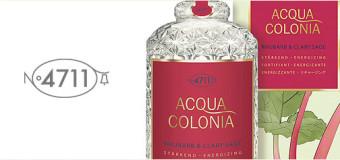 Maurer & Wirtz 4711 Acqua Colonia Rhubarb & Clary Sage woda kolońska