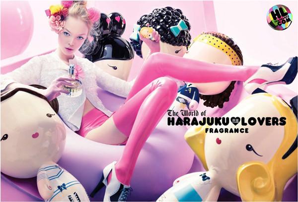 coty harajuku lovers ad